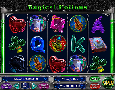 "Slot machine for SALE – ""Magical Potions"""