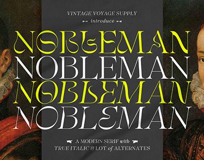 Nobleman • Stylish Serif