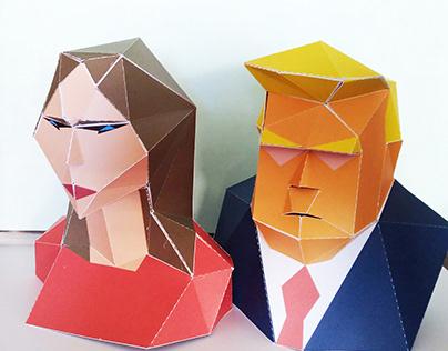 Melania Trump PaperCrat