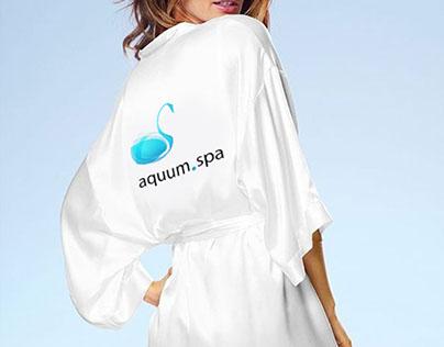 Айдентика для компании aquum.spa