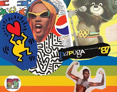 80's Moodboard Posters