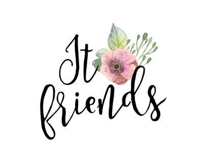 IT FRIENDS · Logo Design