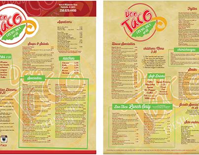 Don Taco Rebranding