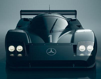 Mercedes-Benz Sauber C11 CGI.