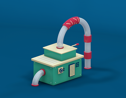 Fake Machine | 3D Project