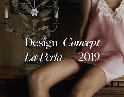 La Perla - Lingerie eCommerce concept