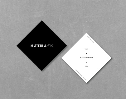 Matterial Fix Jewelry | Branding