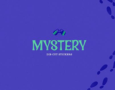 Mystery Stickers - Illustration