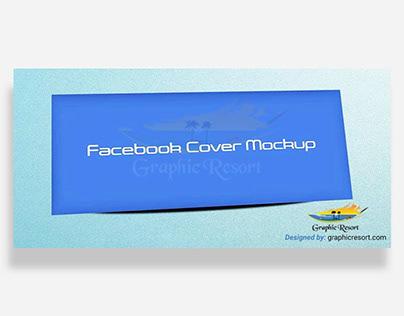 Download Free Facebook Cover Banner Mockup PSD