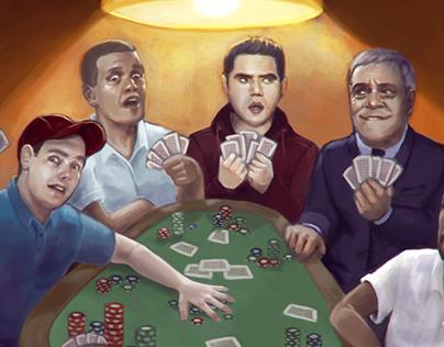 Illustration artwork for El Nacional