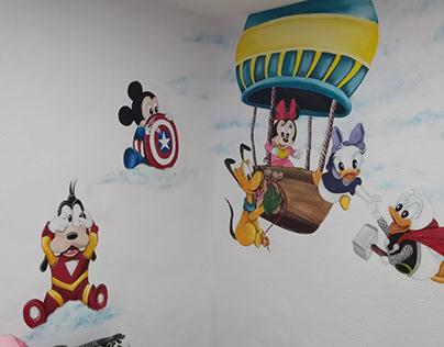 Murales Hab. Infantiles