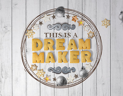 Various POS materials for Dream Maker - invitation shop