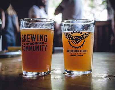 Gathering Place Brewing Co. Branding