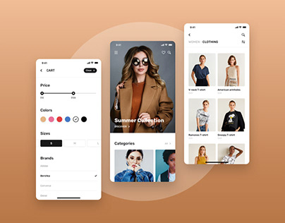 Blume - Shopping app UI Kit