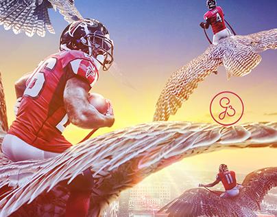 Atlanta Falcons - NFL 2019/20 Gameday Graphic