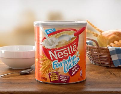Farinha Láctea Nestlé Packshot Animation