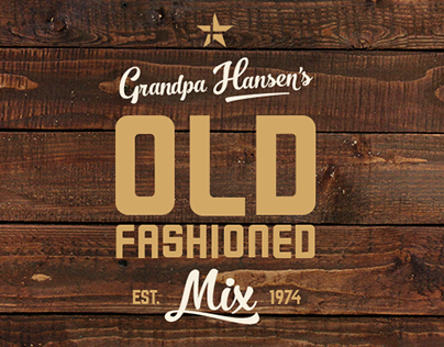 Hansen Old Fashioned Mix