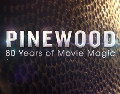 Pinewood: 80 Years of Movie Magic GFX