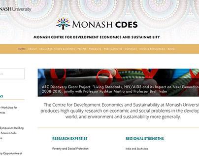 Monash CDES Website