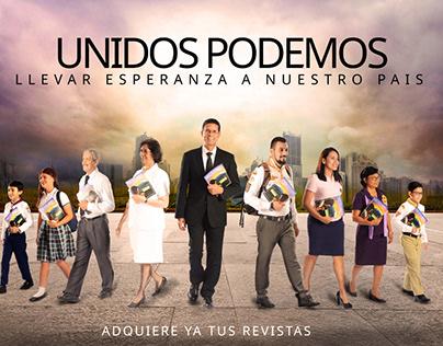 Manipulacion digital: Revista prioridades El Salvador