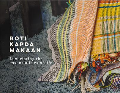 Roti Kapda Makaan | Weave Design