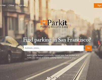 Parkit website