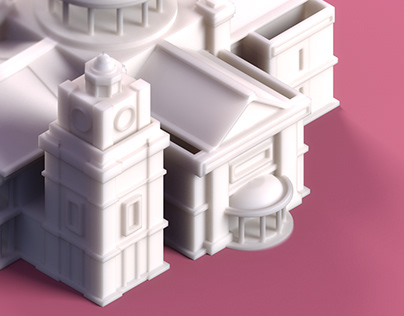 Low Poly Monument - First Serie (London)