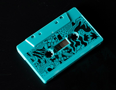 audio cassette design