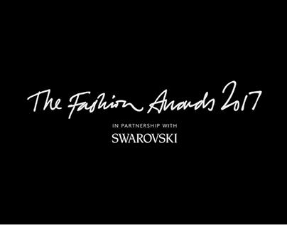 Fashion awards London 2017