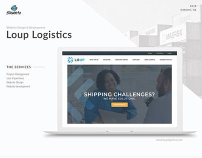 Loup Logistics Website Design and Development