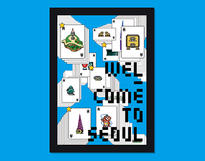 Welcome to SEOUL / Pixel Art Book