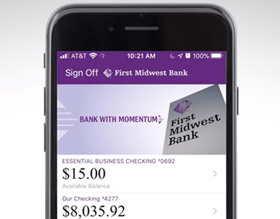 First Midwest Bank Online & Mobile Banking