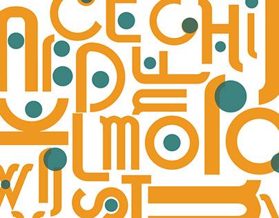 Fallingwater Custom Typeface