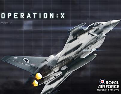 RAF: Operation X - iOS Tablet app
