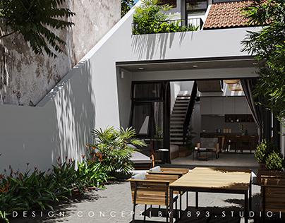 Nhan's House |CGI Design: Duy Huynh 893.studio