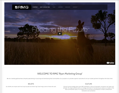 RMG Meats Web Design