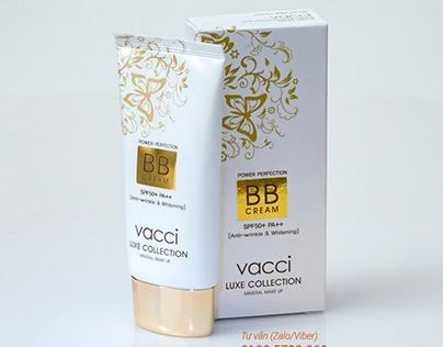 Kem phấn trang điểm Vacci cao cấp BB Cream dạng tuýp Sp