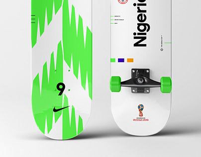Skate deck design - FIFA World Cup