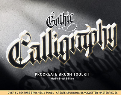 Ultimate Gothic Calligraphy Toolkit By: Tamer Ghoneim