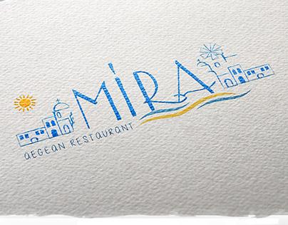 Mira Restaurant | Branding