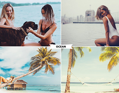 Ocean Photoshop Actions Download