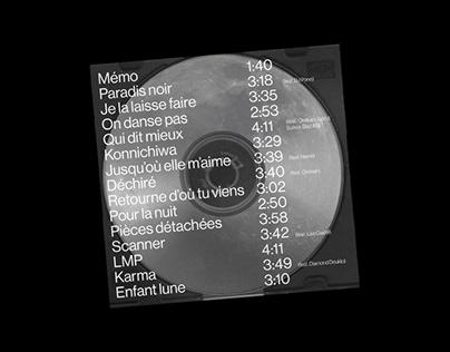 ALBUM COVER — Enfant lune