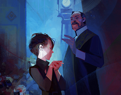Dishonored2 paintings