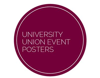 University Union Event Posters