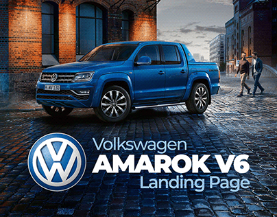 Landing Page Amarok V6