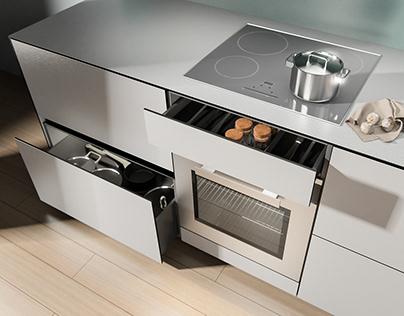 SLIM kitchen for ELNOVA