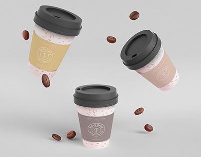 MOLY CAFE . Logo