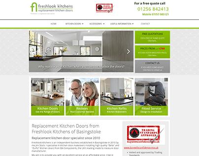 Kitchen Door Replacement Company Website Design