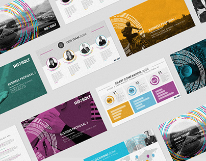 Powerpoint template for Roxsolt