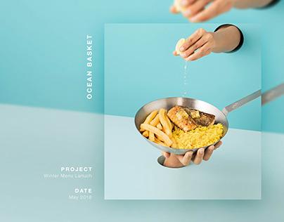 Winter Menu Launch - Food Art Direction and Design